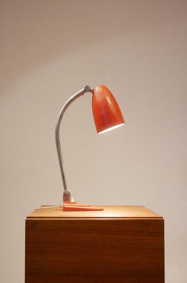 Gispen Lampe de Bureau Bauhaus en Métal, 1920s