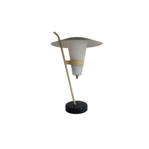 Lampe de Table Moderniste Style Boris Lacroix, 1950s