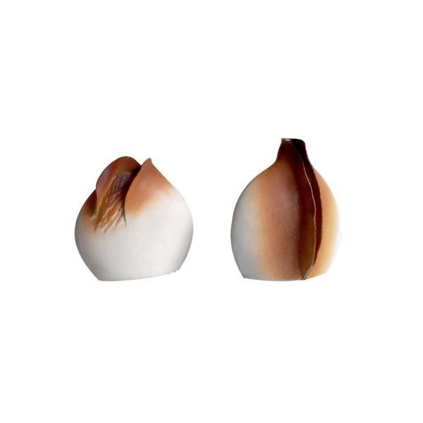 Lampes de Table en Céramique de Georges Deliège, 1980s