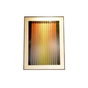 Lithographie Op Art I de Dordevic Miodrag, 1970s