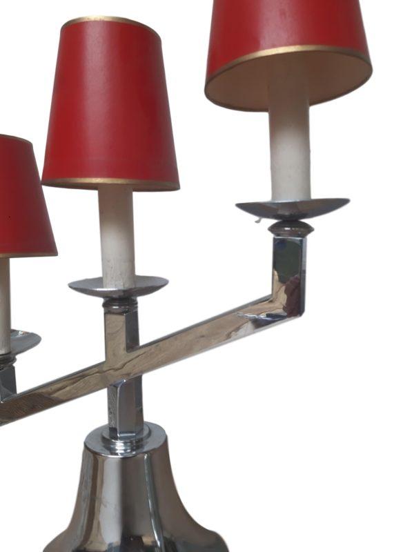 2x Lampes Chandeliers Art Deco, 1940s