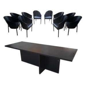 Starck 10x Fauteuils + Table Costes Driade