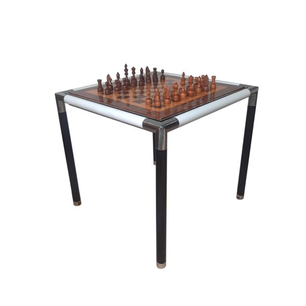 Table à Jeux Echec et Backgammon Deluxe, 1960s