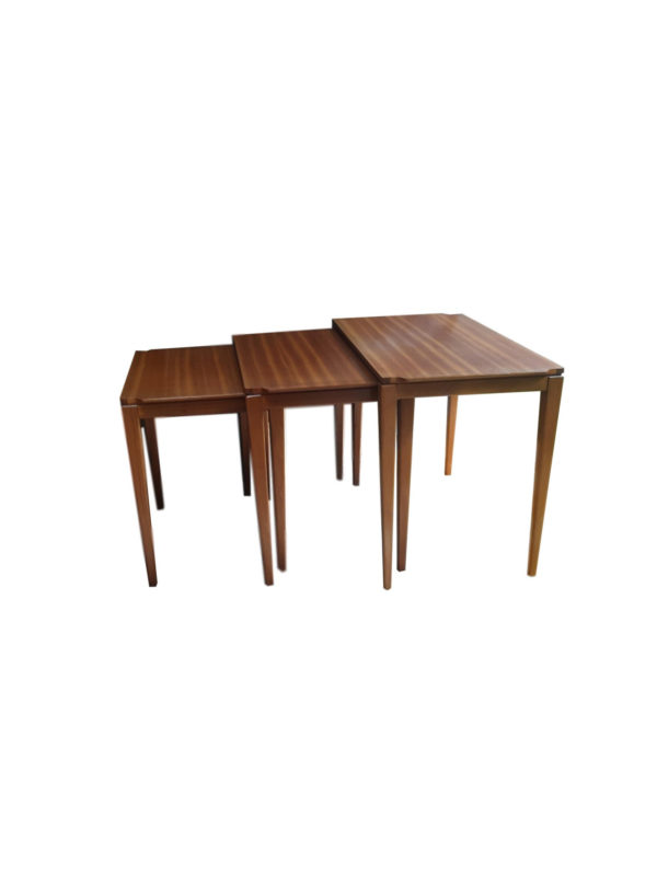 Tables Gigognes Scandinaves en Bois, 1970s
